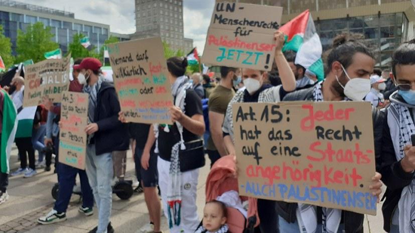 Krieg gegen das Volk von Palästina – weltweite Solidarität, auch im Kampf gegen den Antisemitismus
