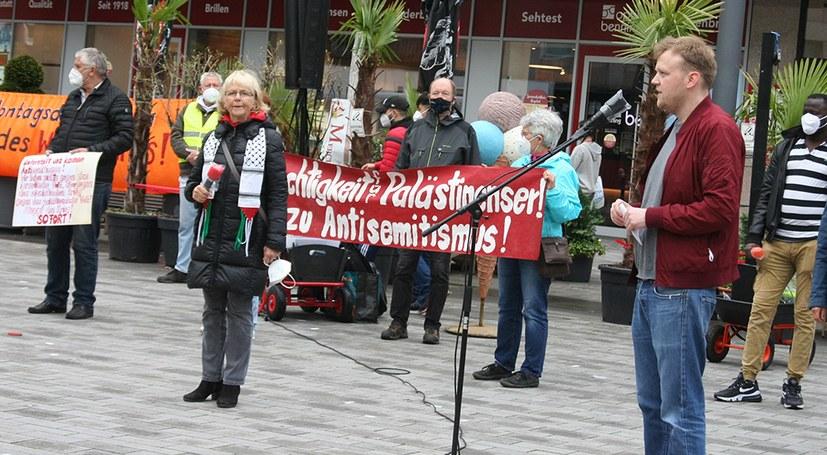 732. Montagsdemo setzt Zeichen der Solidarität mit dem palästinensischen Befreiungskampf