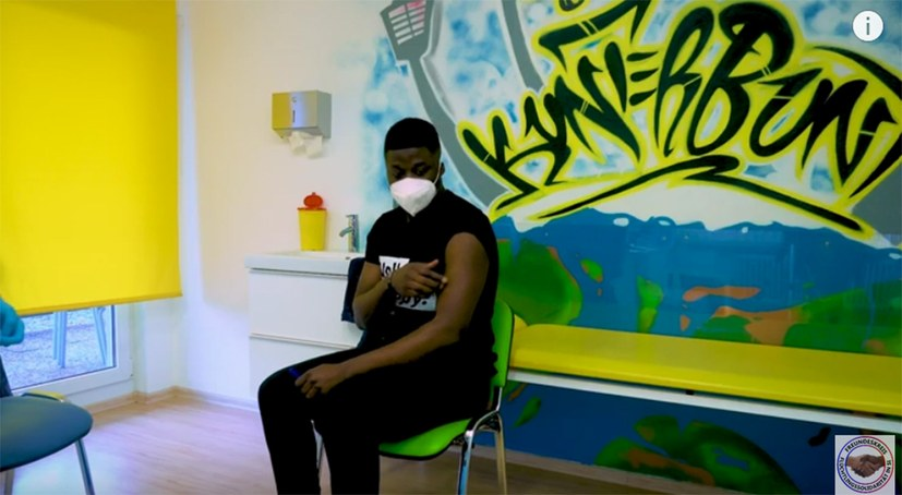 Educational video on Corona vaccination by refugees for refugees goes online!