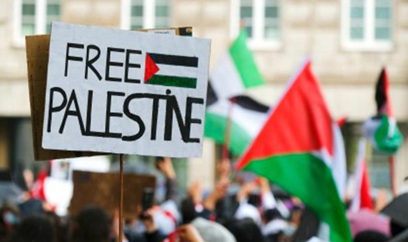 MLPD – einzige Partei, die Solidarität mit dem Befreiungskampf der Palästinenser demonstrierte