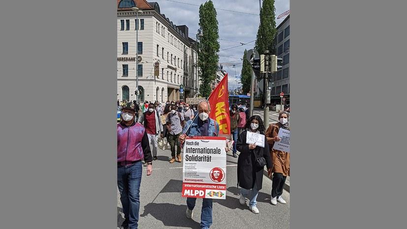 Solidaritätskundgebung zum Nakba-Tag