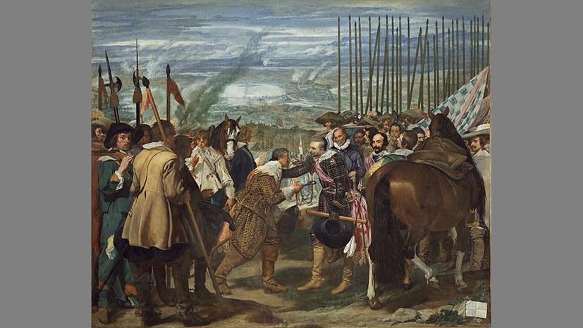 Velazquez und die Übergabe von Breda