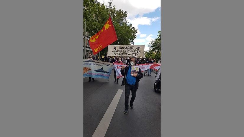 10.000 auf der Straße gegen Wohnungsnot und Mietwucher