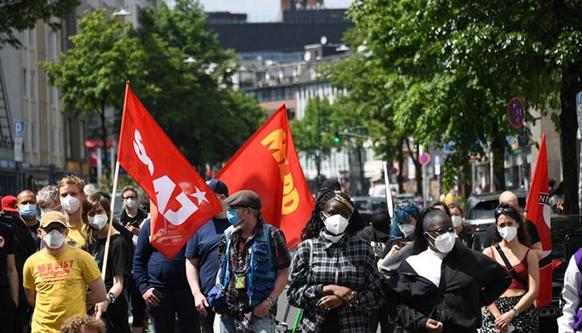 """Kulturvolle Demonstration """"Black Lives Matter"""""""