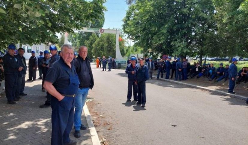 Streik in der Waggon-Fabrik Greenbrier in Caracal