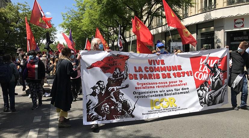Über 10.000 bei Demonstration zum Gedenken an die Pariser Kommune