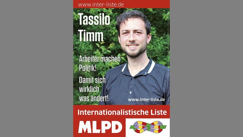 Kandidatenplakate - am 13. August einsatzbereit!