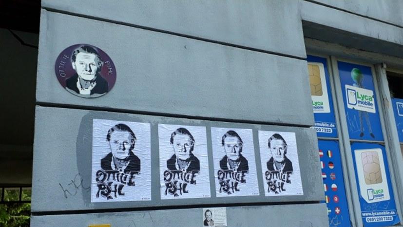 Die Gedenktafel für Ottilie Pohl muss wieder angebracht werden!