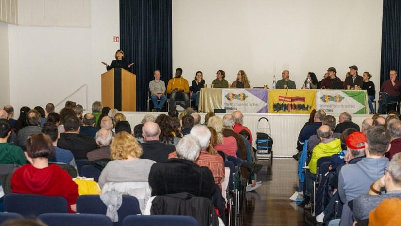 Am Sonntag 5. Kongress des Internationalistischen Bündnisses!