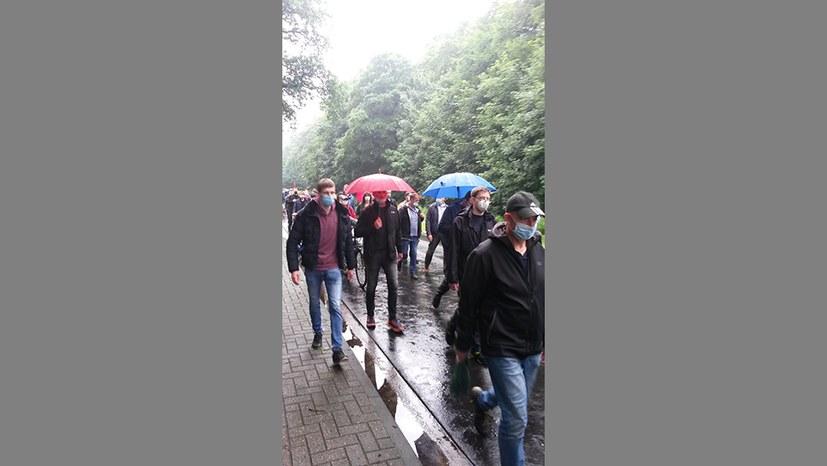 600 Kolleginnen und Kollegen protestieren gegen geplante Aufspaltung