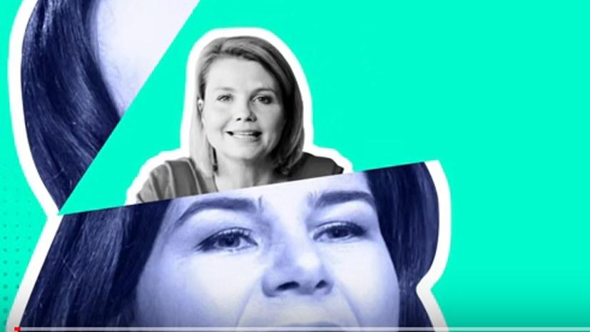 Anette Frier ist Annalena Baerbocks Gewissen