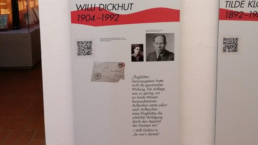 Willi Dickhut und andere Kommunisten öffentlich gewürdigt