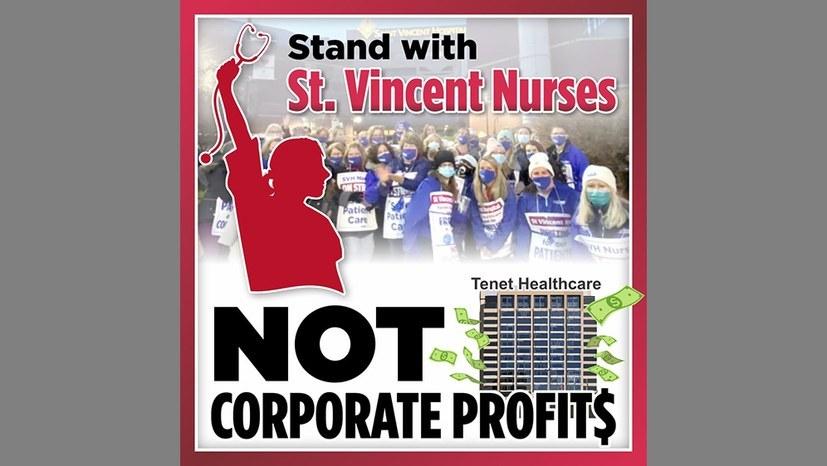 Pflegepersonal streikt schon länger als 100 Tage