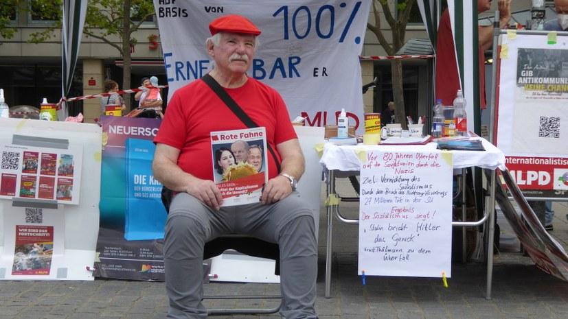Richard Straub - Direktkandidat für die Internationalistische Liste / MLPD