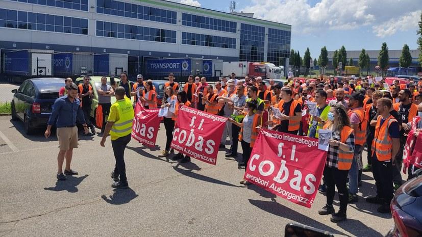 SI Cobas bedankt sich bei der MLPD für die Solidarität