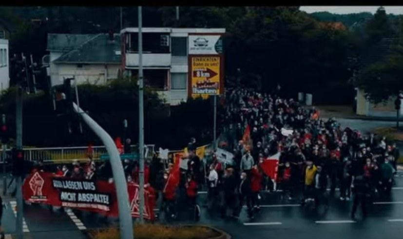 Eindrucksvoller Film über die Protestaktion der Belegschaft von Premium Aerotec