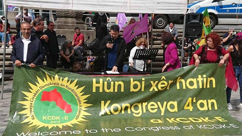 Kämpferischer Protest gegen das Kongressverbot für Revolutionäre