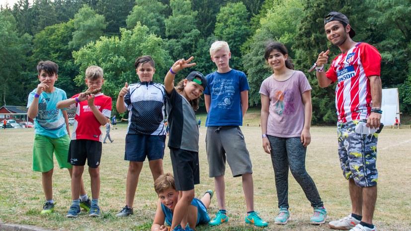 Sommercamp hält auch Ältere jung!