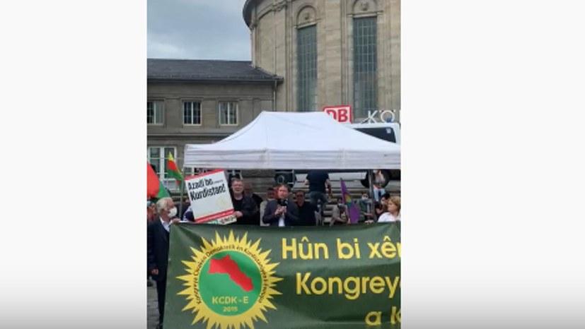 """""""Befreiungskampf und Revolution sind kein Terrorismus"""""""