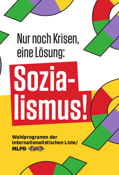 """""""Nur noch Krisen, eine Lösung: Sozialismus"""""""