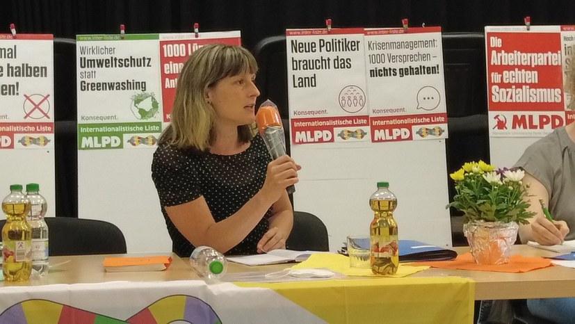 """Wahlprogramm der Internationalistischen Liste / MLPD: """"Nur noch Krisen, eine Lösung: Sozialismus"""""""