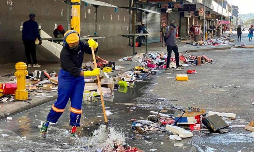 Zu den Hintergründen der Unruhen in Südafrika