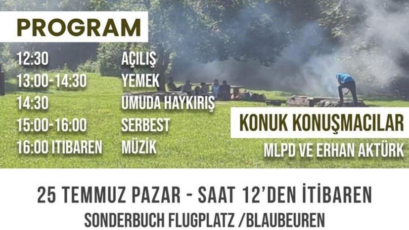 Erhan Aktürk: Grillen mit Wahlkampfplanung