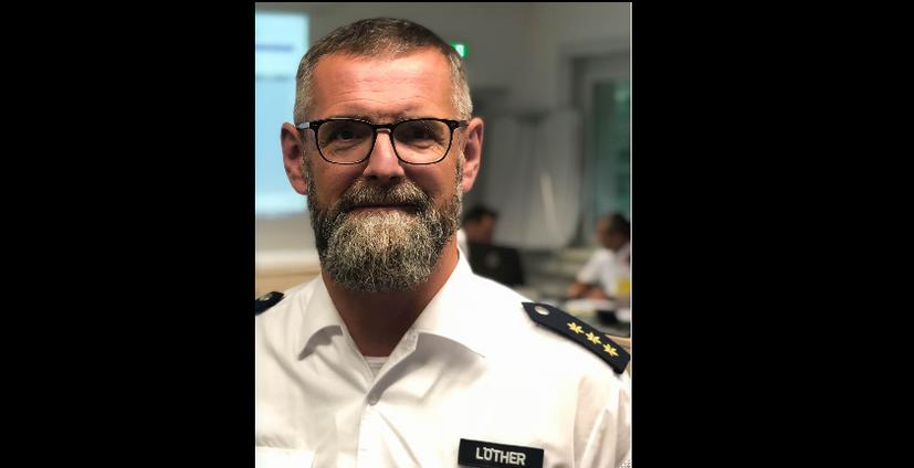 Auf der Anklagebank: Dirk Löther – ehemaliger Polizeichef von Saalfeld