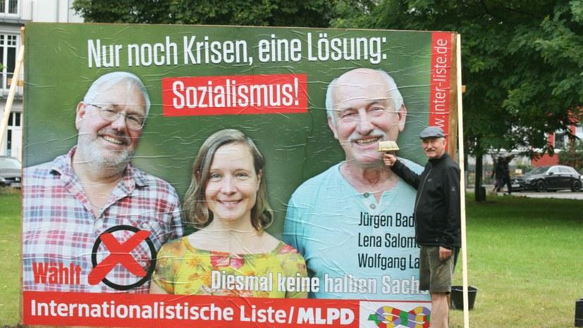 Bremen: 70 Wahlplakate und ein Großplakat – den ersten Tag genutzt