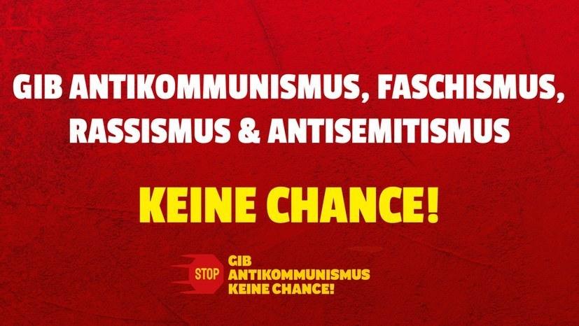 Erfolg der Solidarität und der Bewegung gegen Antikommunismus