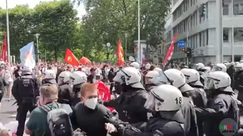 """""""Eskalation bei Demo in Düsseldorf - Was wirklich geschah"""""""