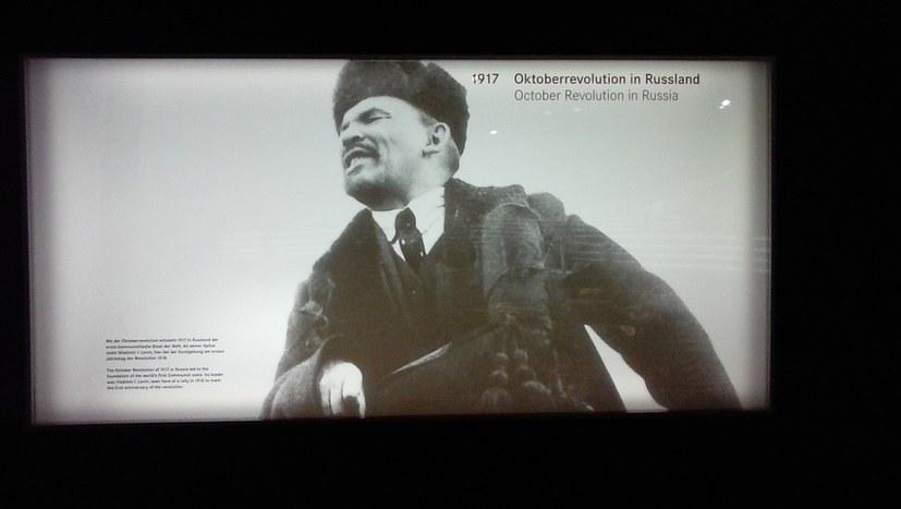 Lenin im Mercedes-Benz-Museum