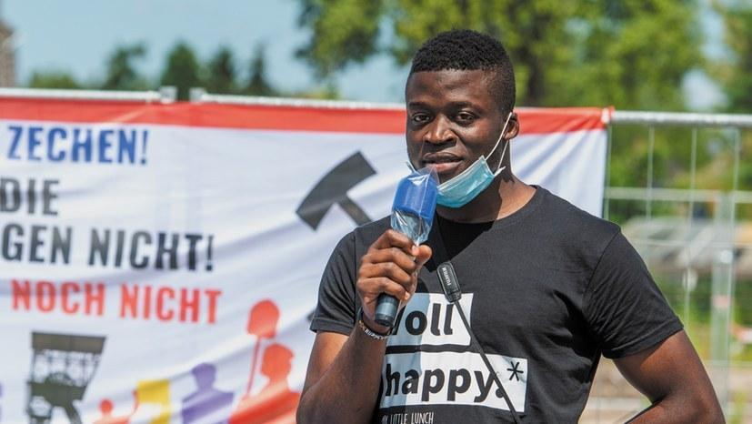 Alassa Mfouapon soll innerhalb einer Woche Deutschland verlassen