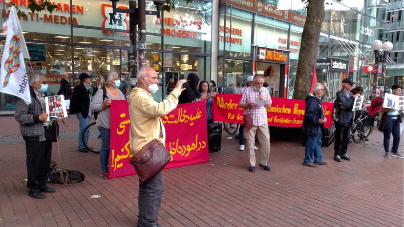 Solidaritätskundgebung mit den Kämpfen der Arbeiter im Iran