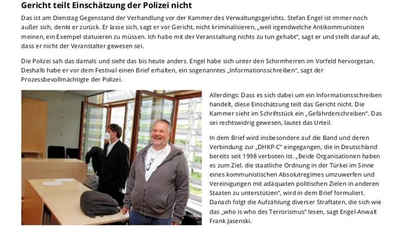 """200 Anhänger feiern 'ihren' Stefan Engel"""