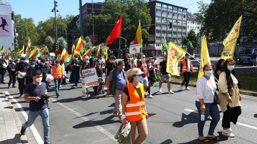 Demonstration gegen Faschismus in der Türkei