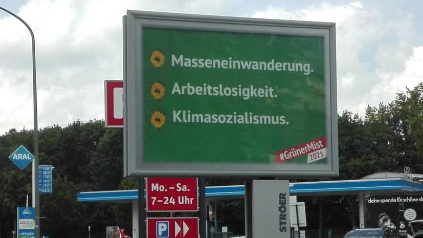 Antikommunistische Hetze gegen die Grünen zurückweisen!