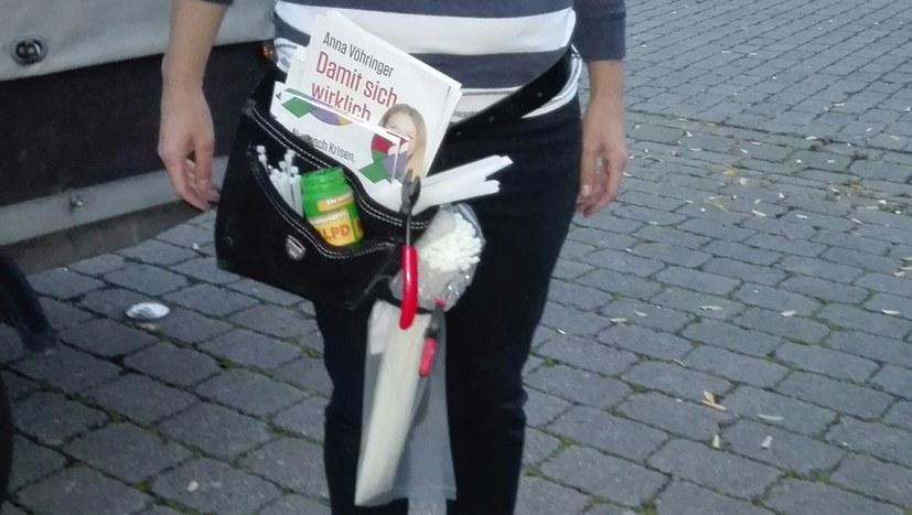 1a-Plakatier-Gürteltasche aus Bochum