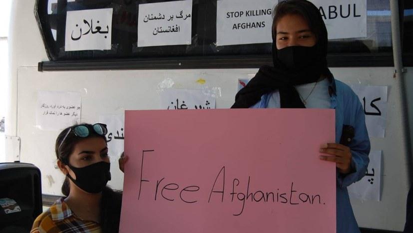 Flüchtlinge aus Afghanistan: Botschaft an die Welt