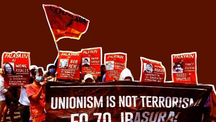 Protestkundgebung: Stoppt den antikommunistischen Terror auf den Philippinen!