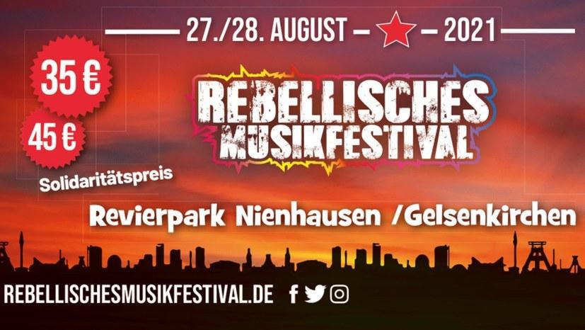 Rebellisches Musikfestival - bald ist es so weit!