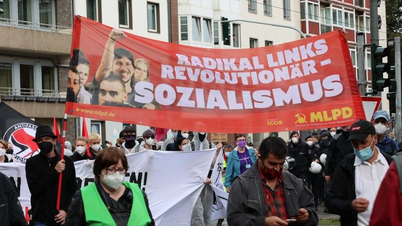 Kämpferische Demonstration gegen geplantes NRW-Versammlungsgesetz