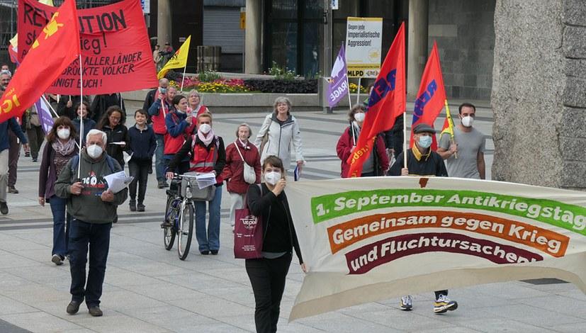Antikriegstag 2021: Kämpferische Kundgebungen und Demonstrationen