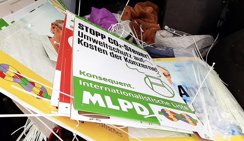 """""""Deutschlandfunk"""" vergleicht Wahlplakate"""
