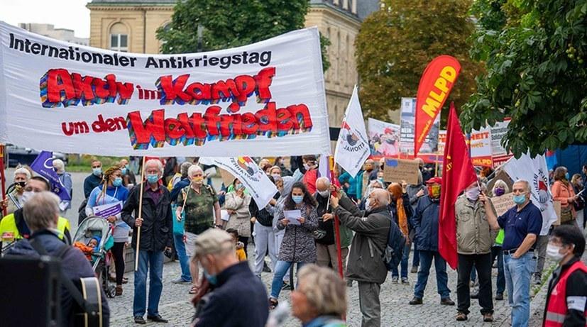 In vielen Städten heute Aktionen zum Antikriegstag