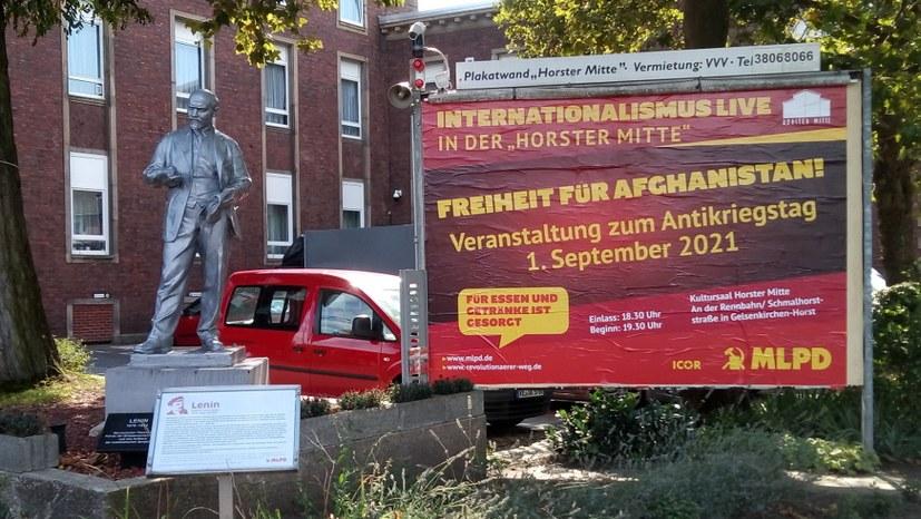 Internationalismus Live am Antikriegstag - nicht verpassen!