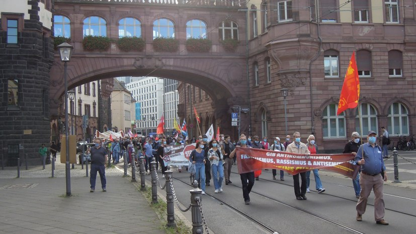 Kundgebungen und Aktivitäten zum Antikriegstag