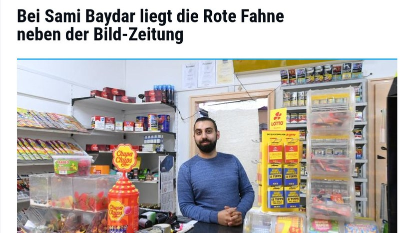 """Sami Baydar in der """"Augsburger Allgemeinen Zeitung"""""""