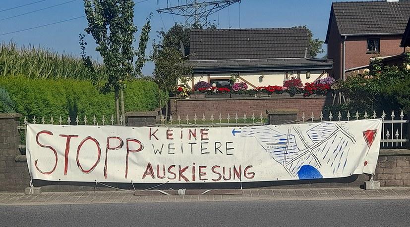 Die Pläne für den weiteren Kiesabbau am Niederrhein müssen vom Tisch!