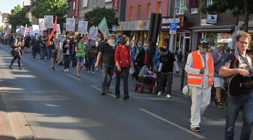 """Protestkundgebung """"Arbeiter gegen Datteln IV"""""""